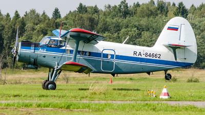 RA-84662 - Antonov An-2P - Private