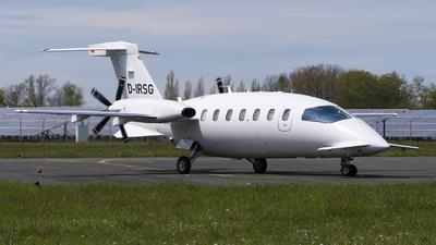 D-IRSG - Piaggio P-180 Avanti II - Private