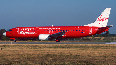 F-GMJO - Boeing 737-4Y0 - Virgin Express (Air Provence Charter)