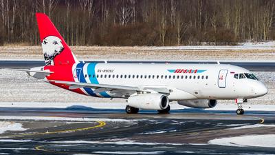 A picture of RA89092 - Sukhoi Superjet 10095LR - Yamal Airlines - © Alexander Lebedev