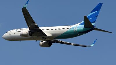 A picture of PKGNS - Boeing 7378U3 - Garuda Indonesia - © Cahyadi Prabowo