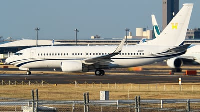 N90R - Boeing 737-7EL(BBJ) - Private