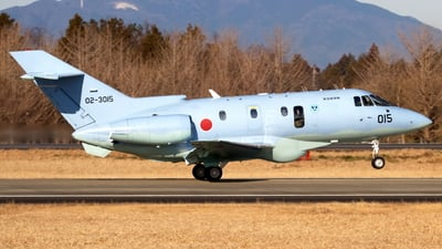 02-3015 - Raytheon U-125A - Japan - Air Self Defence Force (JASDF)
