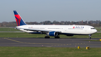 A picture of N832MH - Boeing 767432(ER) - Delta Air Lines - © T99HZL