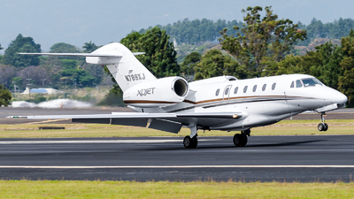N789XJ - Cessna 750 Citation X - Private