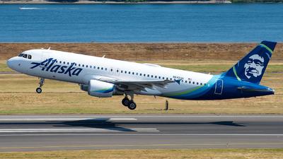 A picture of N642VA - Airbus A320214 - Alaska Airlines - © Lynn Aisin-Gioro