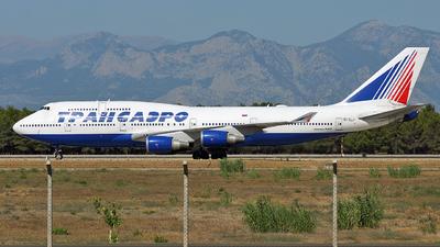 EI-XLJ - Boeing 747-446 - Transaero Airlines