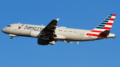 A picture of N117UW - Airbus A320214 - American Airlines - © Conor Clancy