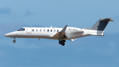 9H-MSS - Bombardier Learjet 45 - Hyperion Aviation