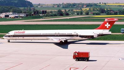 HB-INZ - McDonnell Douglas MD-81 - Swissair