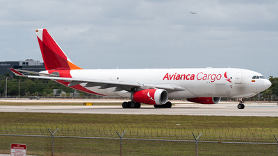 A picture of N332QT - Airbus A330243F - Avianca Cargo - © Evan Dougherty