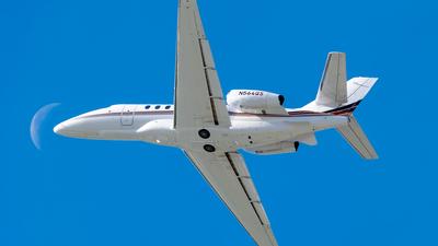 A picture of N564QS - Cessna 680A Citation Latitude - NetJets - © Ricky Teteris