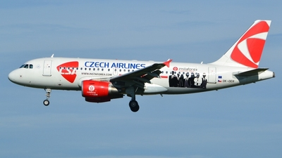 OK-OER - Airbus A319-112 - CSA Czech Airlines