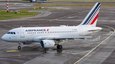 F-GUGD - Airbus A318-111 - Air France