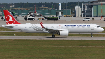 TC-LSA - Airbus A321-271NX - Turkish Airlines