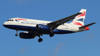 A picture of GEUPB - Airbus A319131 - British Airways - © Ferenc Kolos