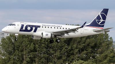 SP-LDE - Embraer 170-100LR - LOT Polish Airlines