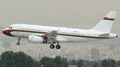 A4O-AJ - Airbus A319-133(CJ) - Oman - Royal Flight
