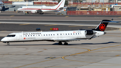 C-GDJZ - Bombardier CRJ-900LR - Air Canada Express (Jazz Aviation)
