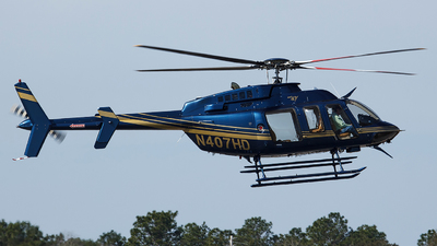 N407HD - Bell 407 - Private