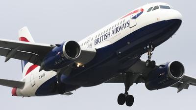 A picture of GEUOF - Airbus A319131 - British Airways - © Maciej Bartnik