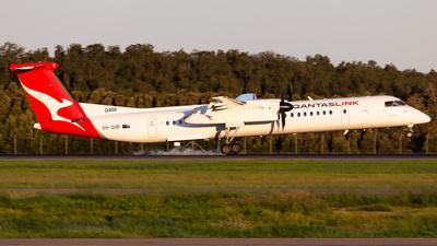 A picture of VHQOR - De Havilland Canada Dash 8400 - Qantas - © Brandon Giacomin