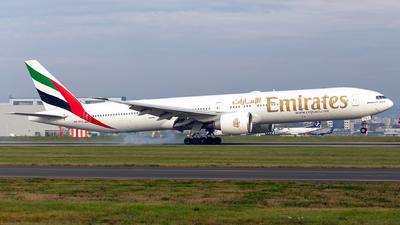 A6-EGJ - Boeing 777-31HER - Emirates