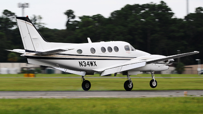 N34WX - Beechcraft C90GT King Air - Private