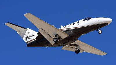 A picture of N94HL - Cessna 525 CitationJet CJ1+ - [5250654] - © Agustin Anaya