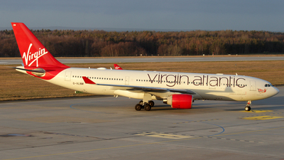 G-VLNM - Airbus A330-223 - Virgin Atlantic Airways