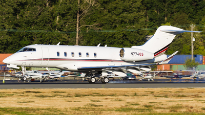 N774QS - Bombardier BD-100-1A10 Challenger 350 - NetJets Aviation