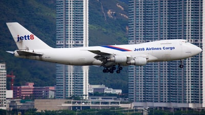 9V-JEB - Boeing 747-281F(SCD) - Jett8 Airlines Cargo