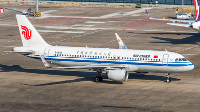 A picture of B1686 - Airbus A320214 - Air China - © ChaleLu