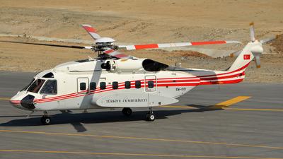 EM-001 - Sikorsky S-92 Helibus - Turkey - Government