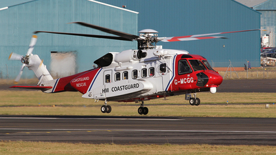 G-MCGG - Sikorsky S-92A Helibus - Bristow Helicopters