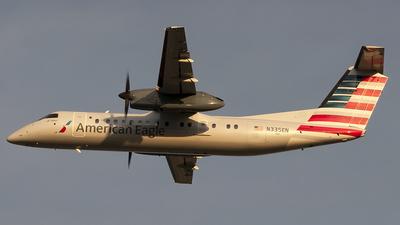 A picture of N335EN - De Havilland Canada Dash 8300 - [375] - © Andres Ramirez