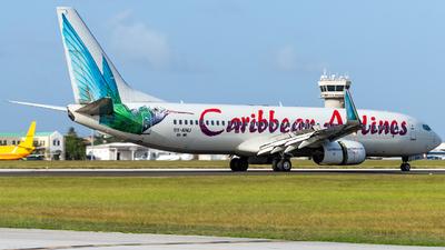 A picture of 9YANU - Boeing 7378Q8 - Caribbean Airlines - © Terris Scott