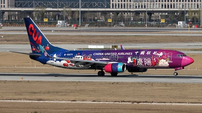 B-5471 - Boeing 737-86D - China United Airlines