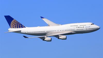 N121UA - Boeing 747-422 - United Airlines