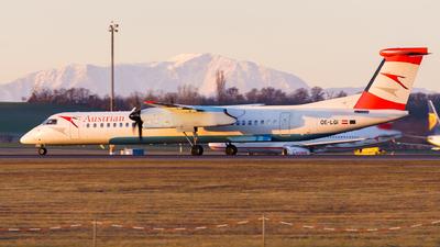 A picture of OELGI - De Havilland Canada Dash 8400 - Austrian Airlines - © Thomas Ranner