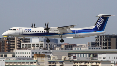 A picture of JA460A - De Havilland Canada Dash 8400 - All Nippon Airways - © H.Choby