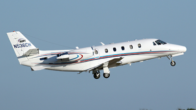 A picture of N536CH - Cessna 560XL Citation Excel - Delta Private Jets - © Kevin Porter