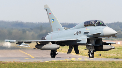 31-13 - Eurofighter Typhoon EF2000 - Germany - Air Force