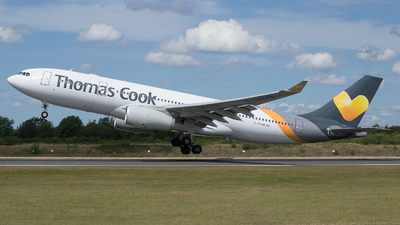 G-VYGM - Airbus A330-243 - Thomas Cook Airlines
