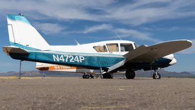 N4724P - Piper PA-23-250 Aztec - Private