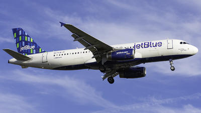 A picture of N579JB - Airbus A320232 - JetBlue Airways - © Tyler Lorenz