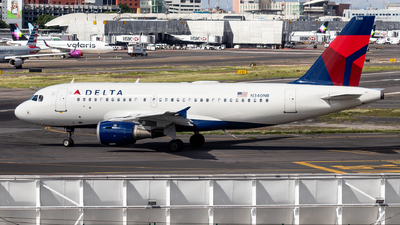 A picture of N340NB - Airbus A319114 - Delta Air Lines - © Santiago_MN