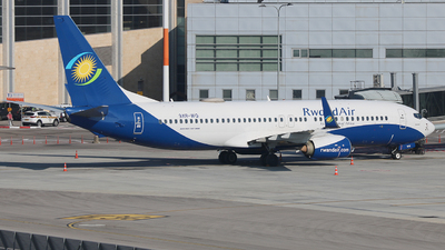 9XR-WQ - Boeing 737-8SH - RwandAir