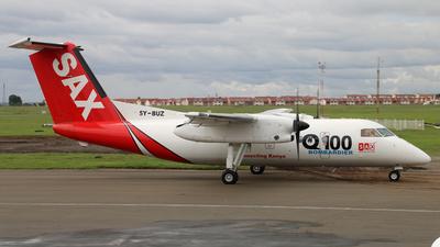 A picture of 5YBUZ - De Havilland Canada Dash 8100 - Fly SAX - © James Ralph
