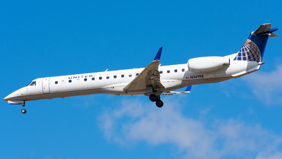 A picture of N14198 - Embraer ERJ145XR - United Airlines - © Wes B